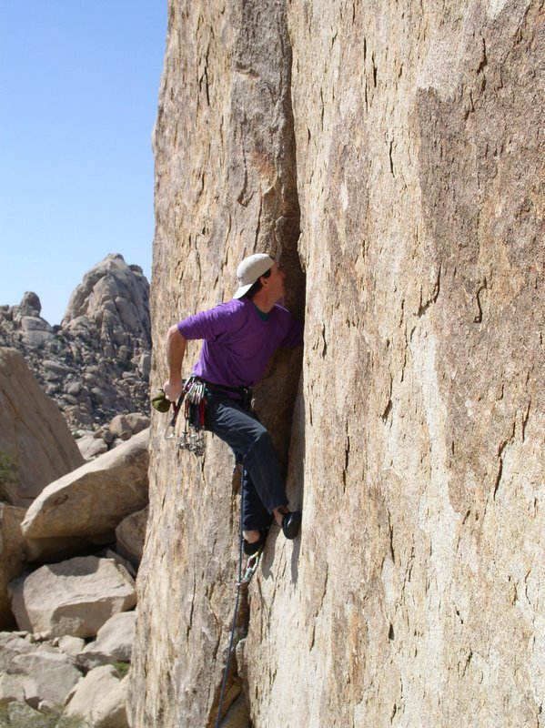 Interview with Randy Vogel On Joshua Tree Rock Climbing Guidebooks