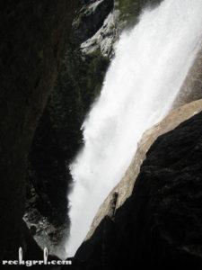 Vernal Falls tunnel