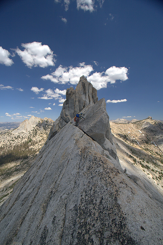 One of the last pitches on Matthes Crest