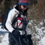 Snowshoeing with the KEYHOLE (TM)